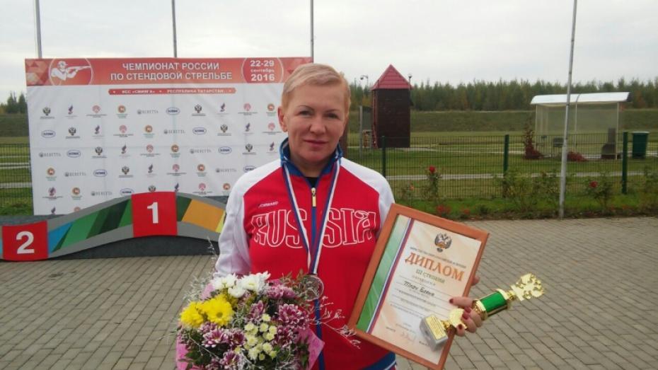 Елена Ткач стала бронзовым призером чемпионата Российской Федерации постендовой стрельбе