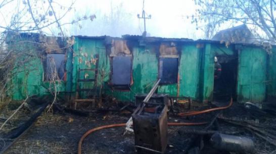 В частном доме в Воронежской области заживо сгорели 2 мужчины
