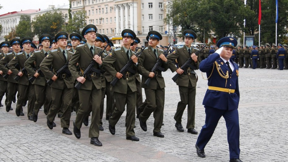 Житель Хохольского района примет участие в Параде Победы в Москве