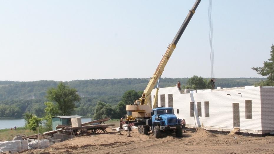 Под Лисками началось строительство гребной базы