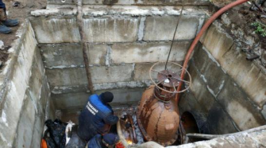 В Коминтерновском районе Воронежа восстановили подачу воды