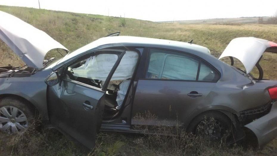 Под Острогожском разбился водитель Volkswagen
