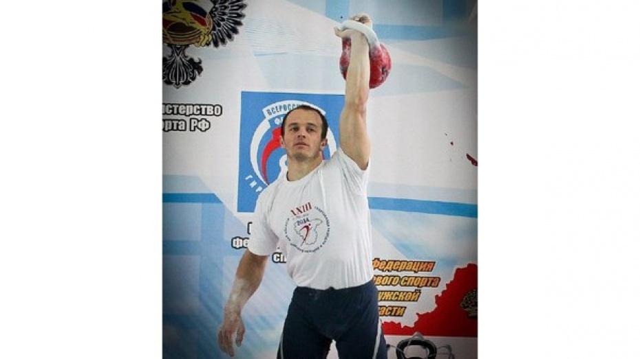 Гиревик из Богучара установил новый рекорд для Воронежской области
