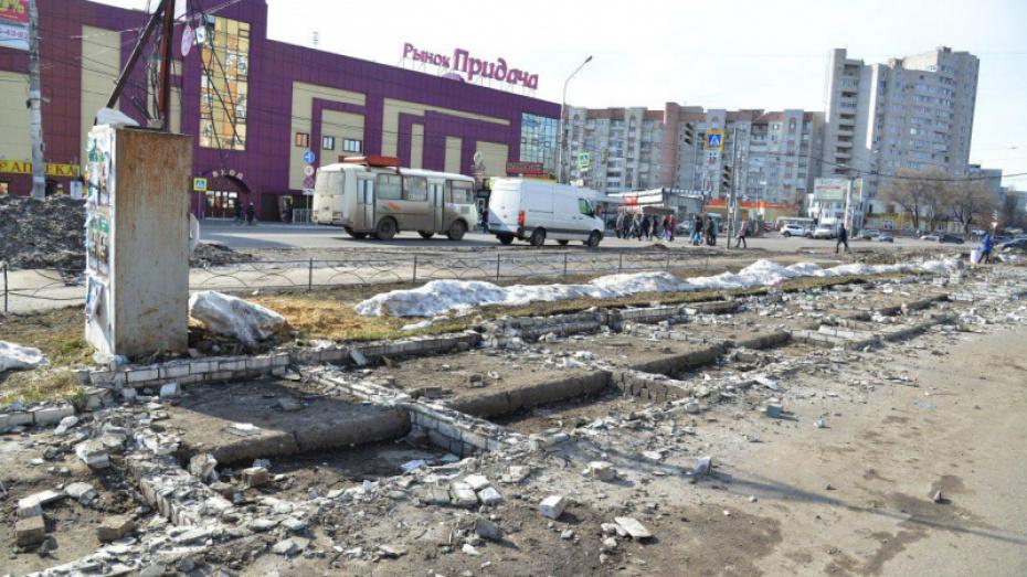 Воронежские власти приняли решение о судьбе мини-рынка на улице Димитрова