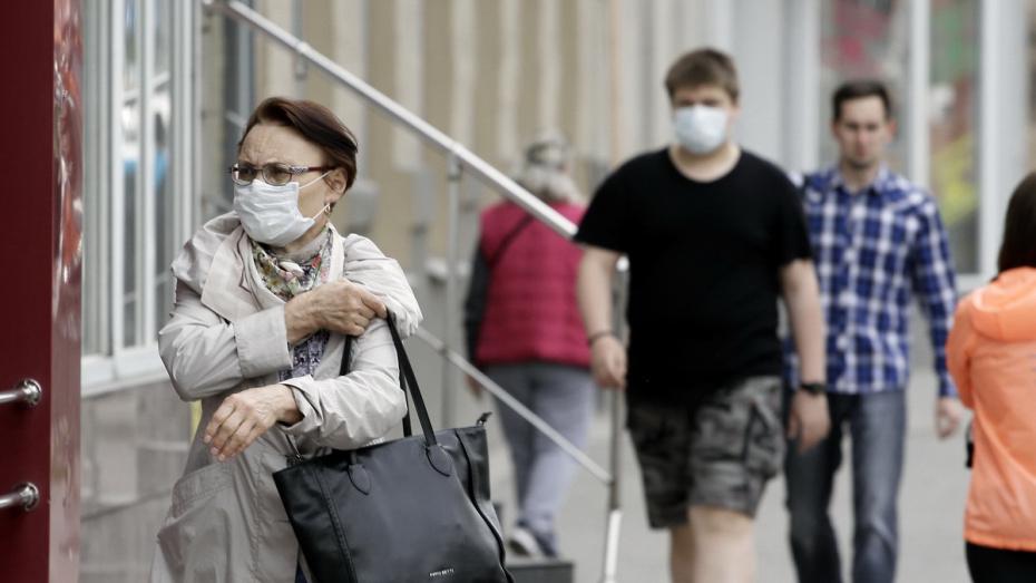 В Воронежской области не осталось районов без коронавируса