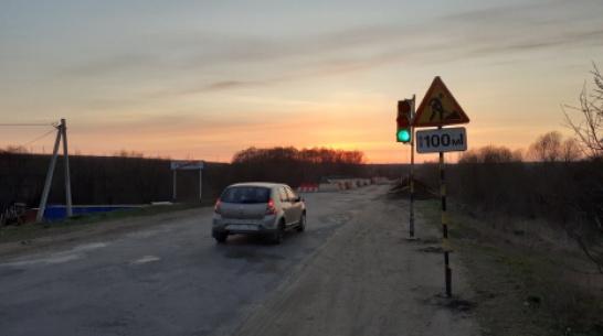 Под Воронежем капитально отремонтируют мост через реку Ведуга