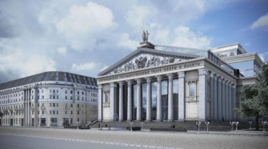 Воронежцам представили новую концепцию реконструкции театра оперы и балета
