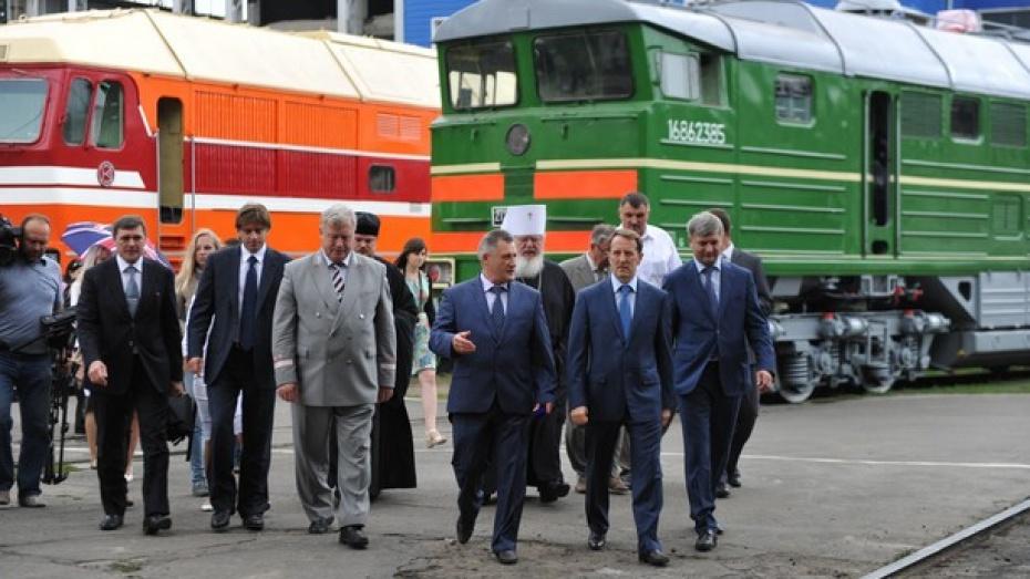Воронежский тепловозоремонтный завод открыл новую испытательную станцию