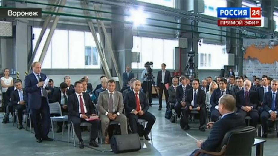 Уполномоченный при президенте РФ: «Воронежская область – абсолютный лидер по росту промышленного производства в стране»