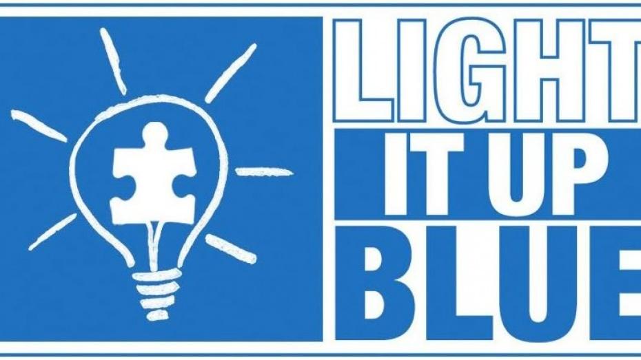 Завтра здания облправительства и мэрии подсветят синими прожекторами