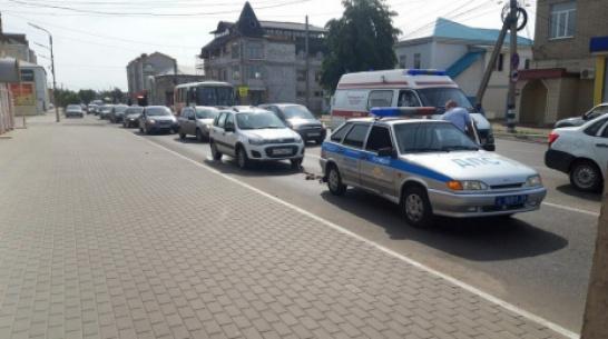 Воронежские полицейские помогли попавшей в трудную ситуацию автомобилистке