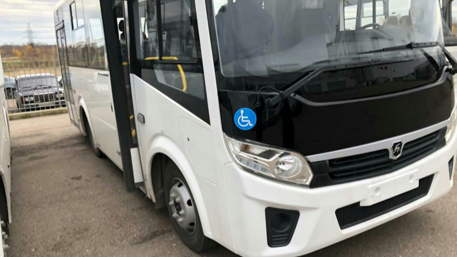 На маршрут, соединяющий 3 района Воронежа, выпустят современные автобусы