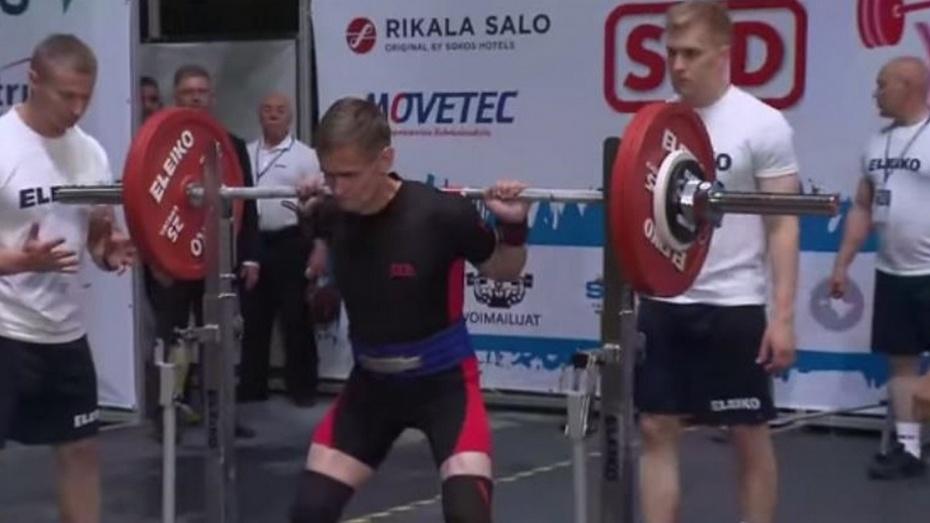 Верхнемамонец стал чемпионом мира по пауэрлифтингу