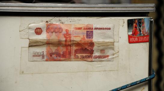 Воронежская старушка получила «первомайское пособие» из банка приколов