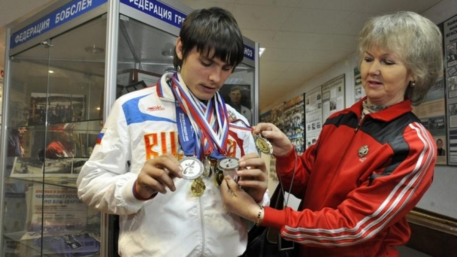 В Музее спорта наградили воронежских спортсменов с нарушением интеллекта