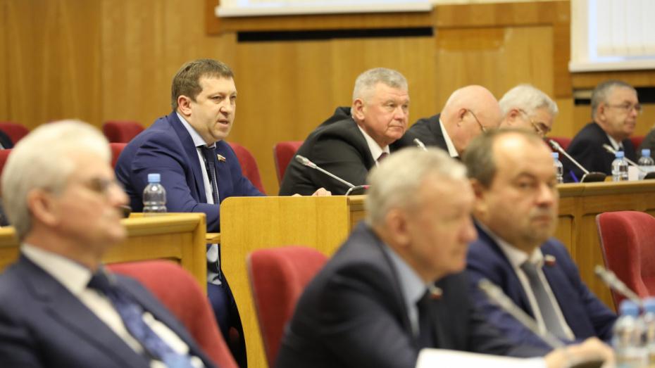 Приоритет семьи и единства. Депутаты Воронежской облдумы поддержали поправки в Конституцию