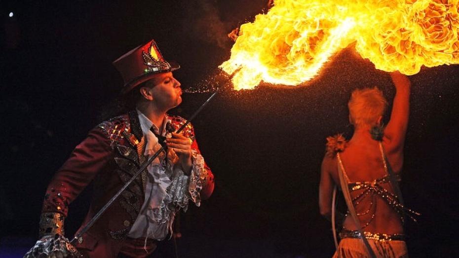 Воронежцы увидят танец фонтанов и огней