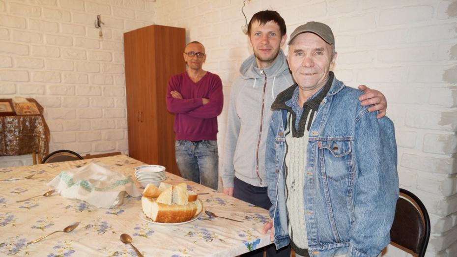 В хохольском селе Костенки открылся приют для бездомных «Дом милосердия»
