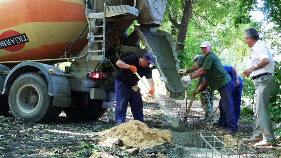 В Воронеже началась реконструкция Бринкманского сада