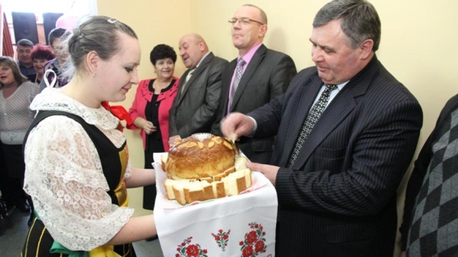 Новый фельдшерско-акушерский пункт в Богучарском районе принял первых пациентов