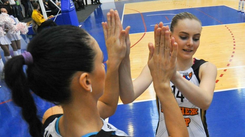 Воронежские баскетболистки попали в юношескую сборную России