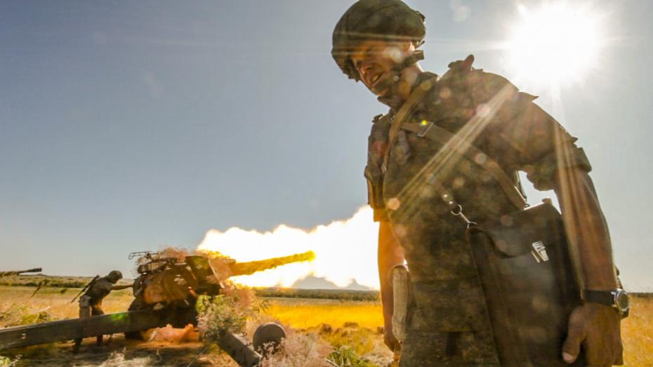В Воронежской области завершились масштабные военные учения