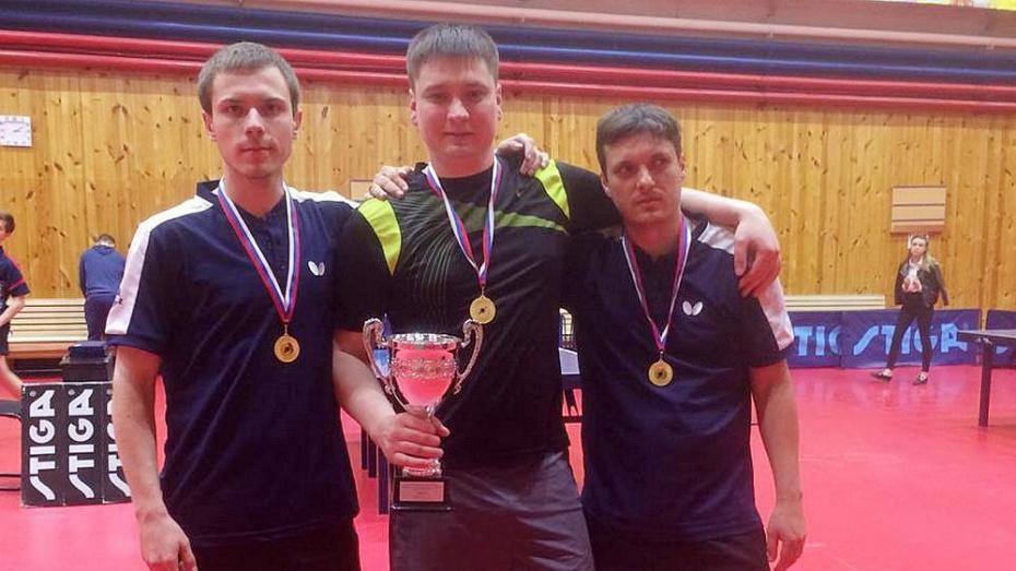 Бобровские спортсмены стали чемпионами России по настольному теннису