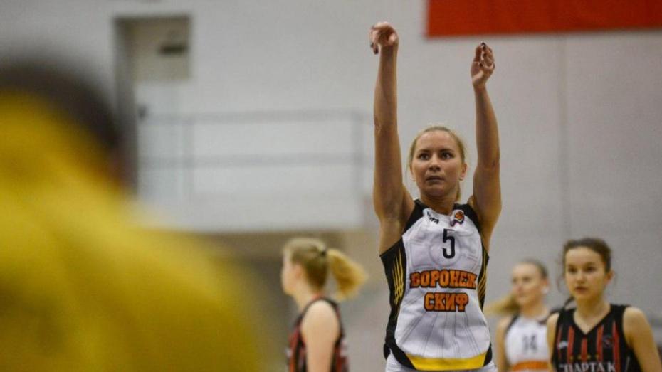 Баскетбольный «Воронеж-СКИФ» победил «Ладогу» из Санкт-Петербурга