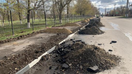 В Поворино на строительство тротуаров выделили более 7 млн рублей