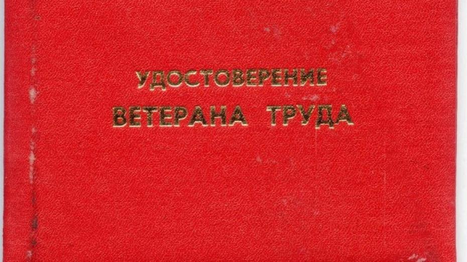 Прокуратура Воронежской области: пенсионеру незаконно отказали в звании «Ветеран труда»