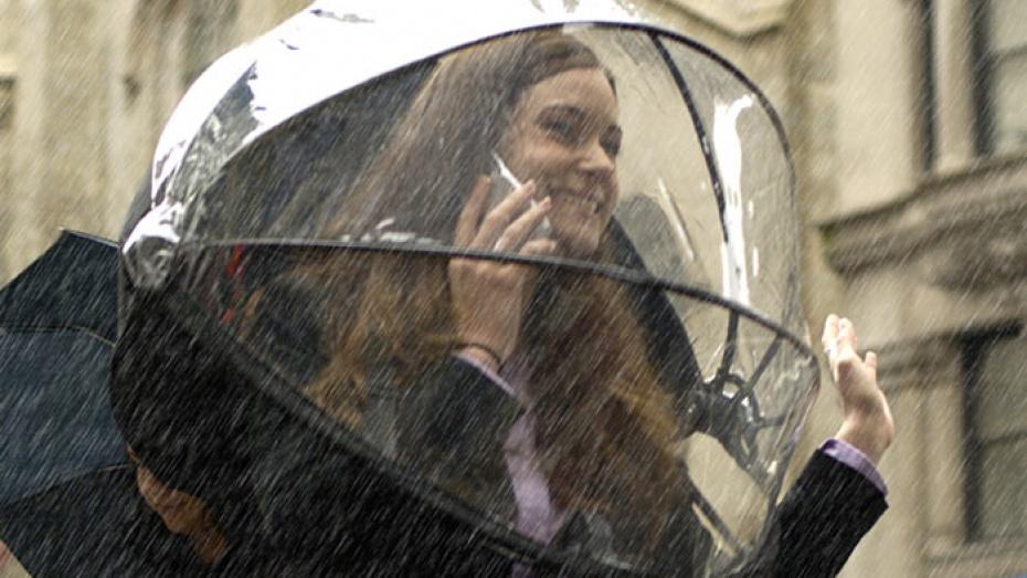 На выходных воронежцев ждет дождь