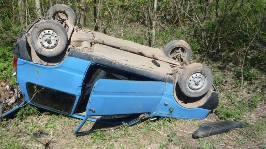 В Воронежской области разбился водитель «Оки»