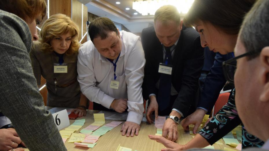 Участники программы «Команда будущего Воронежской области» провели деловую игру