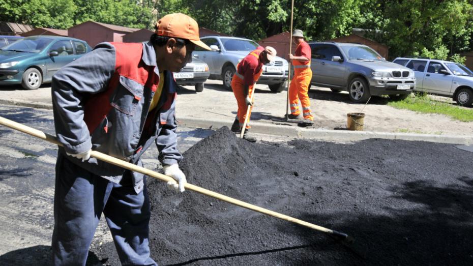 Власти отремонтируют дворы неактивных воронежцев после обращения в Минстрой