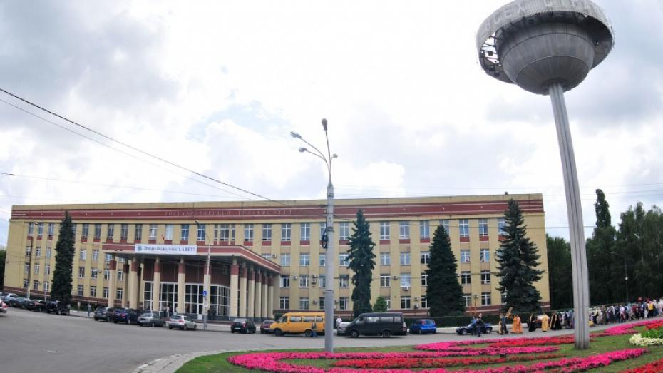 Фасады главного и юридического корпусов Воронежского госуниверситета оборудуют подсветкой