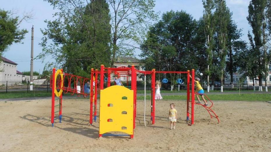 В таловском парке «Солнечный» вырос спортивный городок