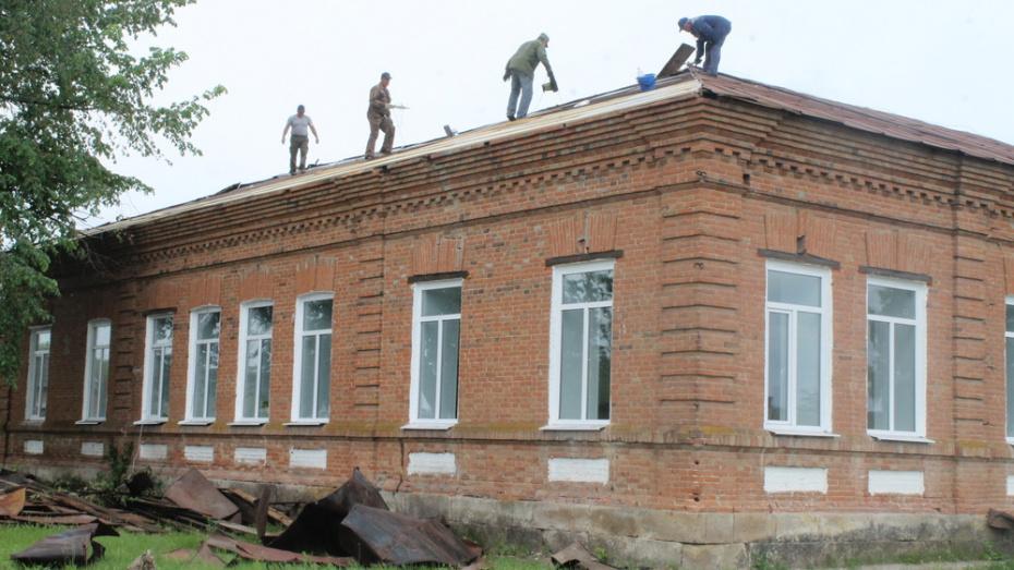 В Петропавловке отремонтируют крышу районного историко-краеведческого музея