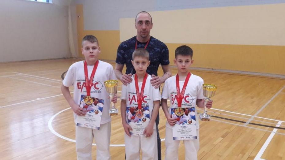 Борисоглебские рукопашники завоевали 2 «золота» всероссийского турнира