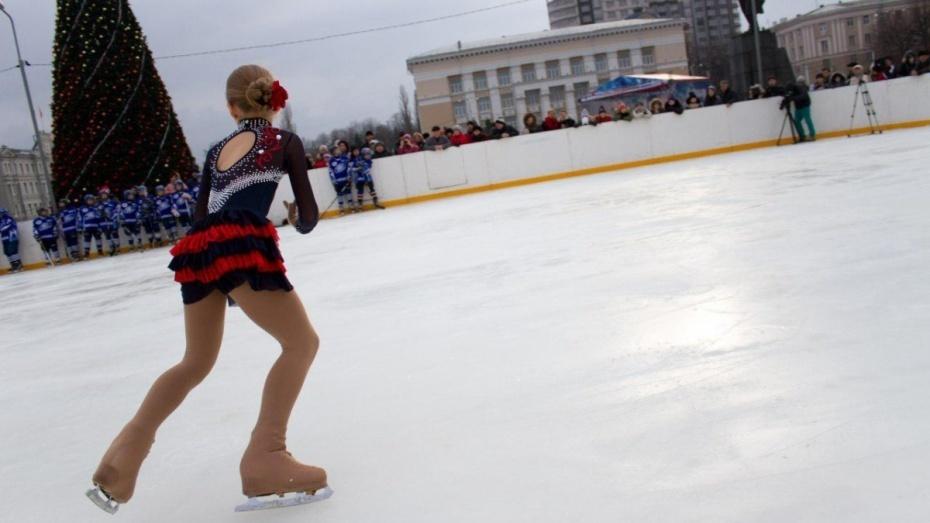Целых два!: Впарках Воронежа начали работу платные открытые катки
