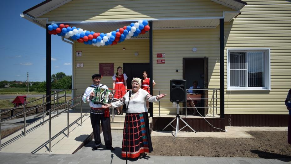 В борисоглебском селе Губари открыли новый ФАП