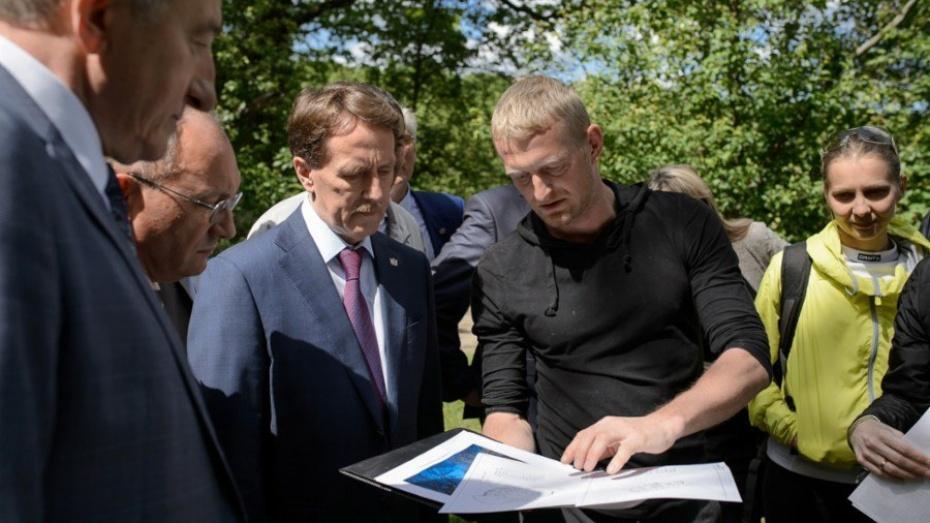 Общественники представили проект «Дома солнца» в воронежском центральном парке