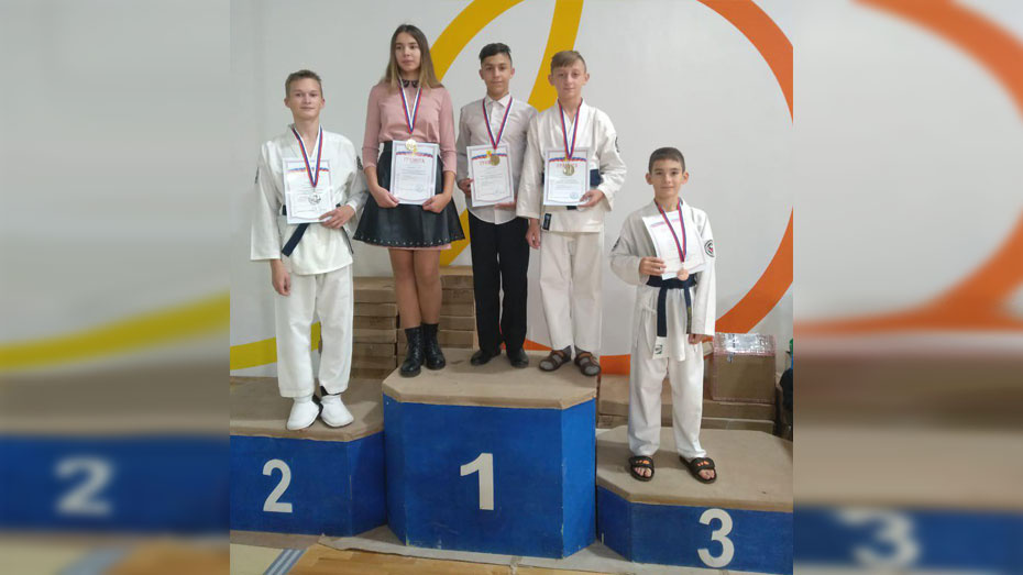 Верхнехавские каратисты завоевали 3 «золота» на Кубке города Воронежа