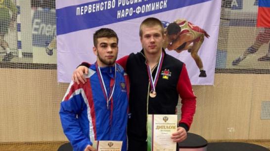 Воронежские борцы завоевали две медали первенства России