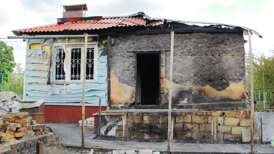 На строительство нового дома для семилукских погорельцев собрали около 300 тыс. рублей.