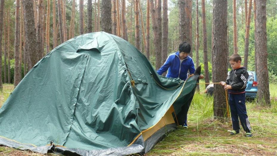 В Грибановском районе прошел молодежно-семейный палаточный сбор «Савала-11»
