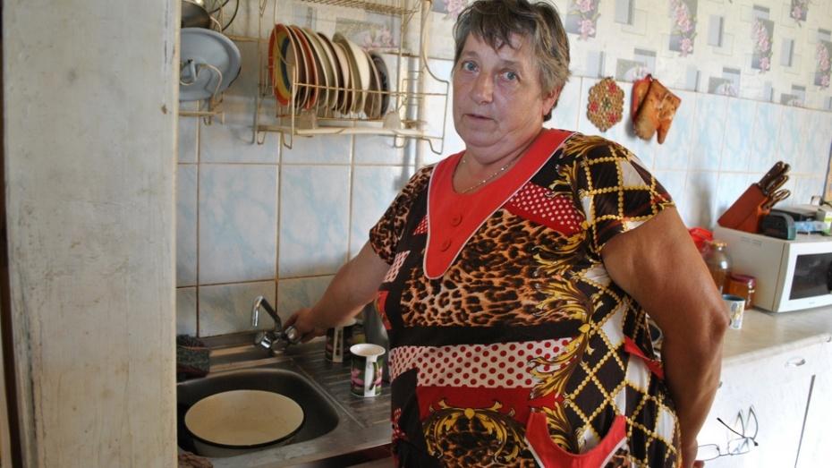 В Семилуках остался без воды крупный поселок
