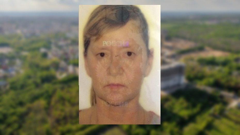 В Воронежской области пропала 54-летняя женщина