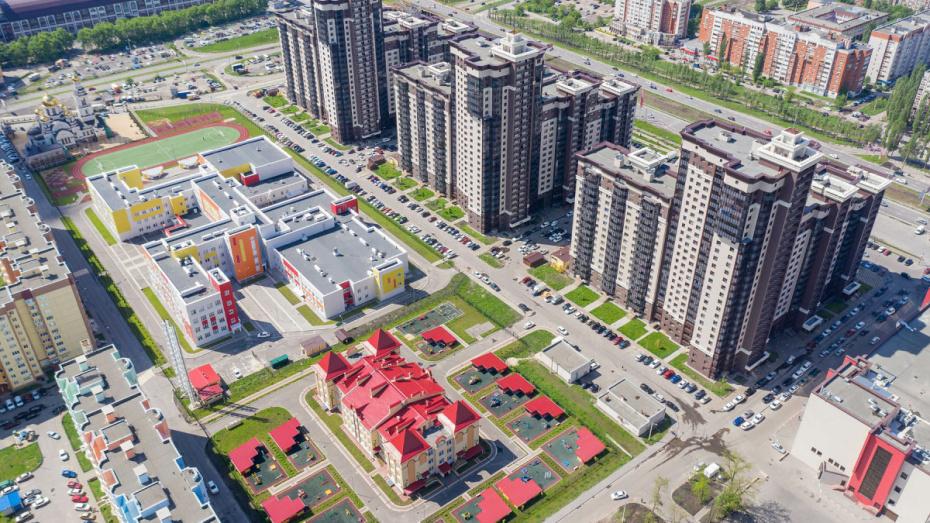 Воронежский ДСК ввел рекордное количество жилья в 2019 году