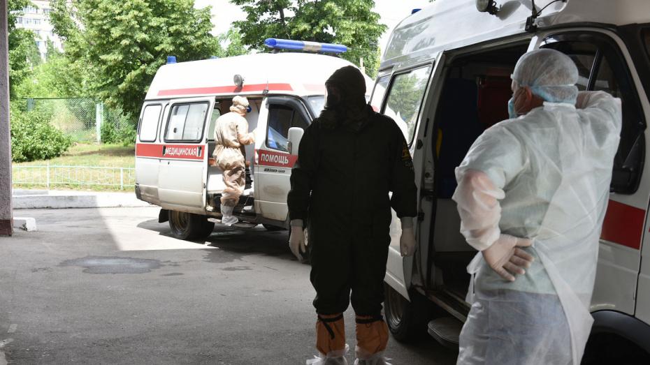 Более 100 человек заболели COVID-19 в Воронежской области