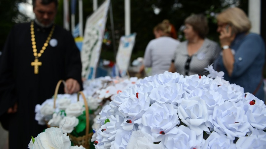 Акция «Белый цветок» пройдет в Воронеже с 15 по 23 сентября